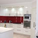 красно белая кухня