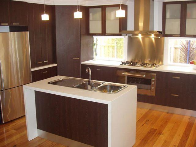 кухни цвета венге фото