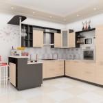 кухни венге беленый дуб фото