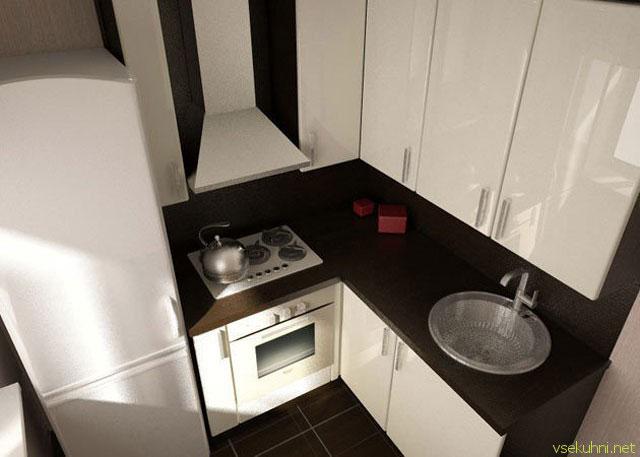 Очень маленькие кухни фото дизайн