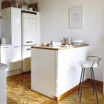 угловые кухни с барной стойкой