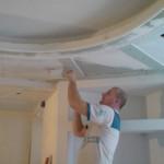 Монтаж потолка на кухне из гипсокартона