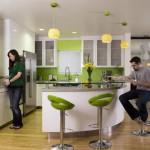 кухни с барной стойкой фото