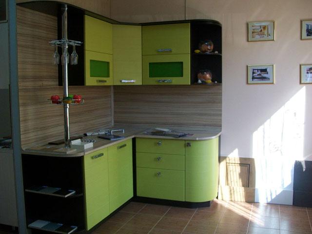 лайм и венге кухня