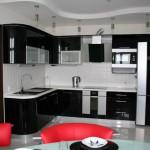 гипсокартоный потолок на кухне