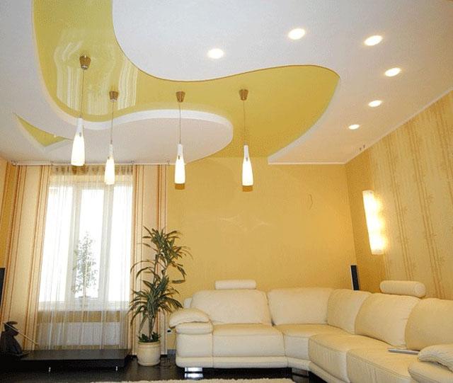 светильники для кухни потолочные в натяжном потолке