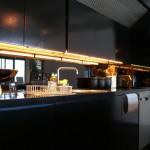 черная кухня интерьер