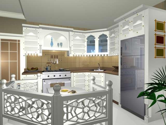 кухни модерн фото угловые