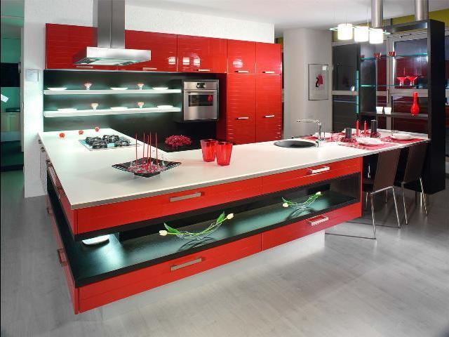 кухни италии модерн
