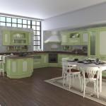 угловые кухни модерн