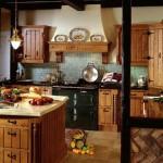 кухни в стиле кантри фото
