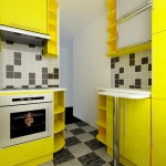 кухни желтого цвета фото