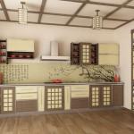 кухни в китайском стиле фото