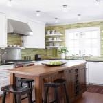 кухни фисташкового цвета фото