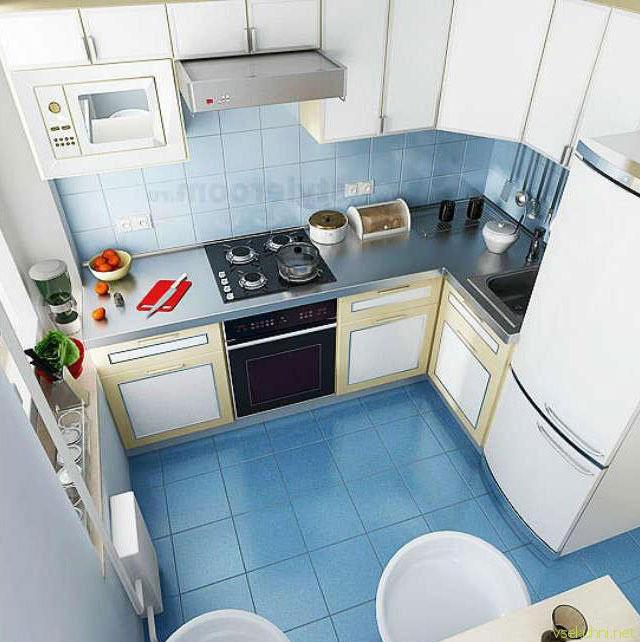 дизайн кухни 5 5 метров