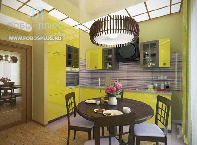 Идеи дизайна кухни 6 кв м