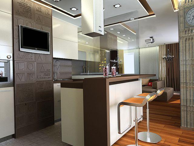 высота барной стойки на кухне