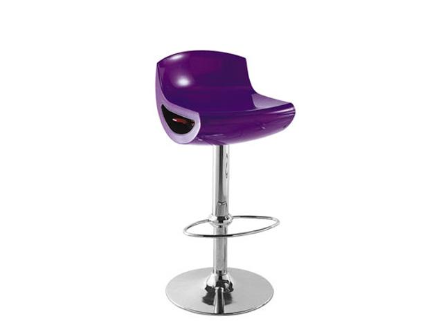 Пластиковый барный стул для кухни