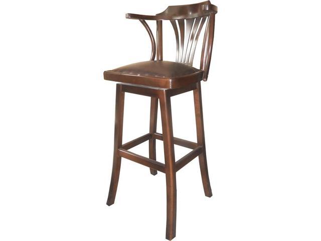барные деревянные стулья для кухни