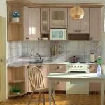 кафель на стене на кухне