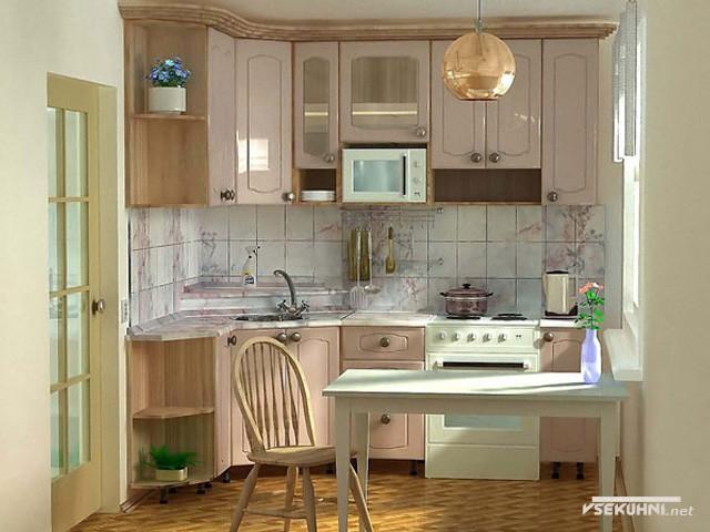 Фото: кафель на стене на кухне