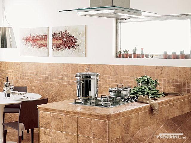 Кафель для кухни - фото