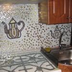 кафельная плитка мозаика для кухни