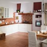 облицовка стен кухни кафельной плиткой