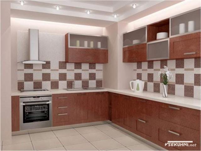 Фото: кафельная плитка для кухни