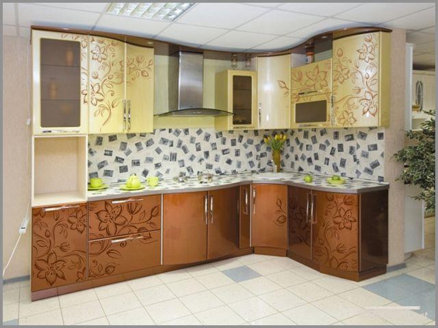 Фото: напольная кафельная плитка для кухни
