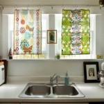 карниз для штор на кухню