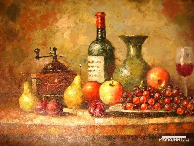 Картины-постеры для кухни