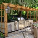 как оформить кухню на даче