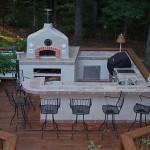 интерьер летней кухни на даче