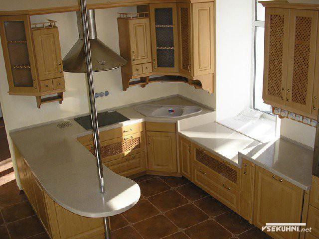 Фотография - маленькие кухни с барной стойкой