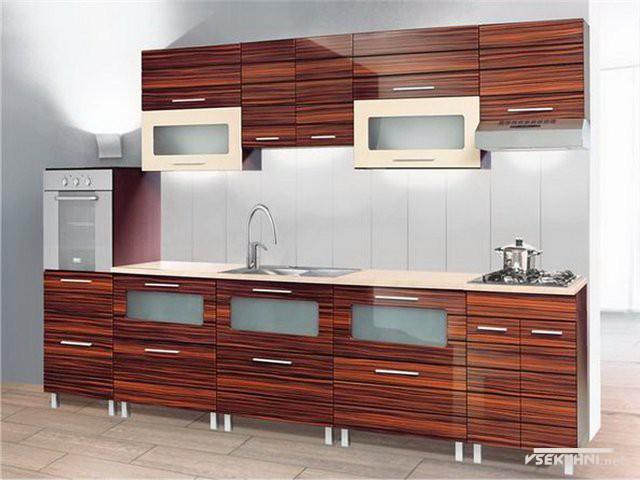 Наборная мебель для кухни эконом класса - фото