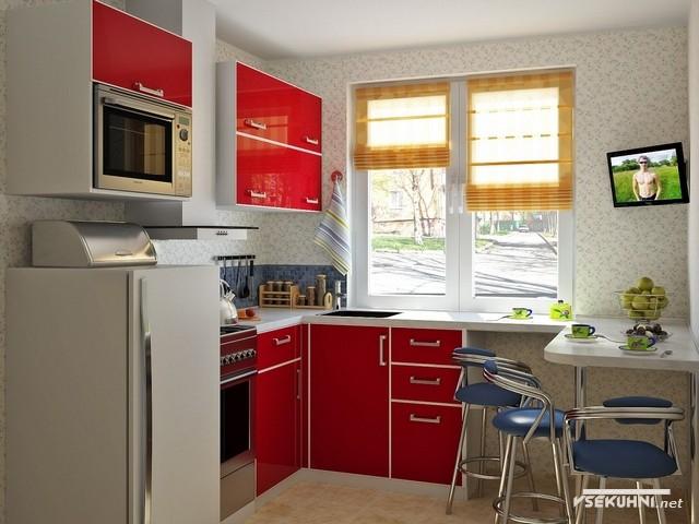 Фото: мебель для кухни эконом класса