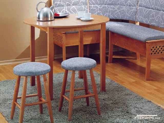 Фотография: мягкая мебель угловая для кухни