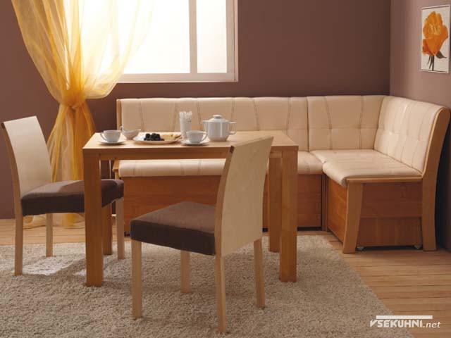 Фото - мягкая мебель угловая для кухни
