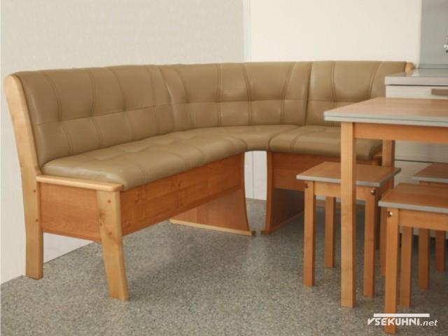 Прочная прошивка углового дивана выдержит любые механические воздействия