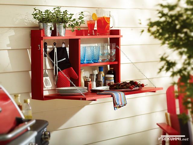 Вариант стола для мини-кухни