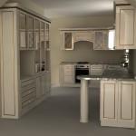 корпусная мебель для кухни и ее плюсы