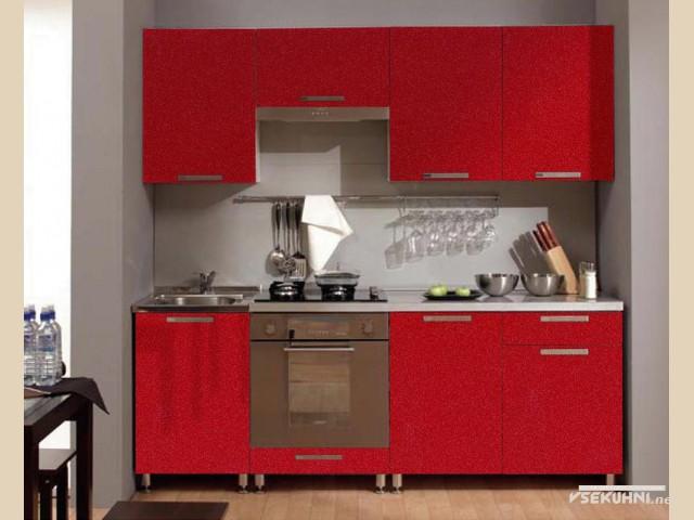 Корпусная мебель для кухни - полный набор элементов в одном стиле