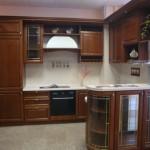 Мебельные фасады для кухни из мдф, покрытые шпоном