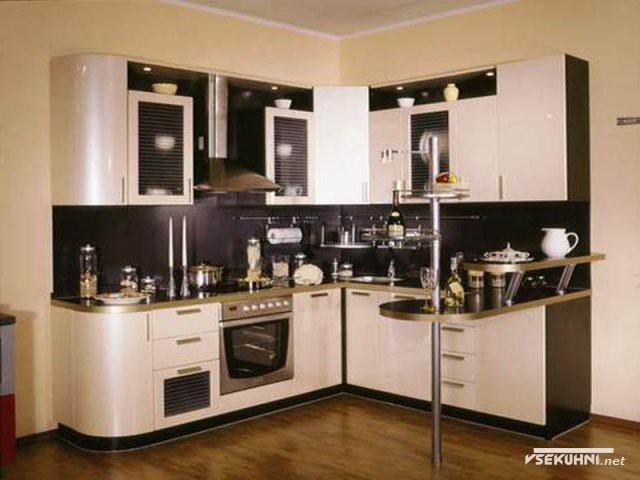 Мебельные фасады для кухни из аллюминия