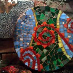 Мозаичное панно для кухни ярких рацветок