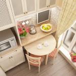 Колонки пеналы для кухни маленьких размеров