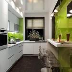 Белый шкаф пенал для кухни