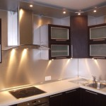 Точечные светильники для подсветки кухни