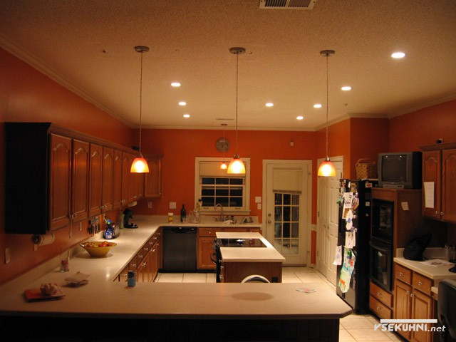 Подсветка для кухни делится на 3 зоны